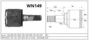WN149_Mitsubishi_MOTOMAX_przeguby i półosie_parametry