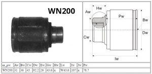 WN200_HONDA_MOTOMAX_przeguby i półosie_parametry