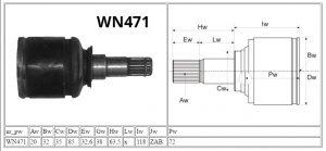 WN471_Toyota_MOTOMAX_przeguby i półosie_parametry