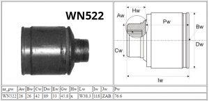 WN522_Mitsubishi_MOTOMAX_przeguby i półosie_parametry