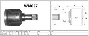 WN627_Mitsubishi_MOTOMAX_przeguby i półosie_parametry